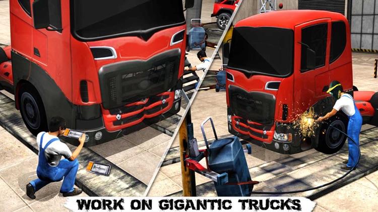Monster Truck Mechanic Simulator: Repair Shop PRO screenshot-4