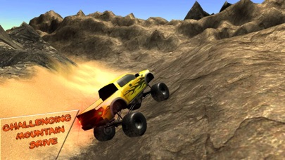 Off road 4x4 jeep: Mountain hill drive screenshot one