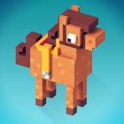 My Blocky Horse Racing: Animal Care Game for Girls icon