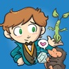 FANTASTIC BEASTS AND WHERE TO FIND THEM STICKERS iphone and android app