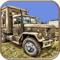 US Army Trucker Park : Gambler Traffic Sim-ulator