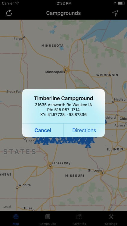 Iowa – Campgrounds & RV Parks