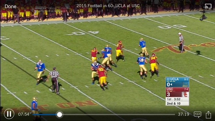 Pac-12 Now screenshot-1