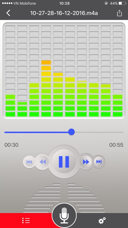 Voice Recorder for dropbox screenshot-1