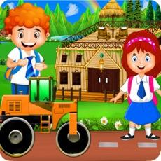 Activities of School Trip Farm Builder Simulator