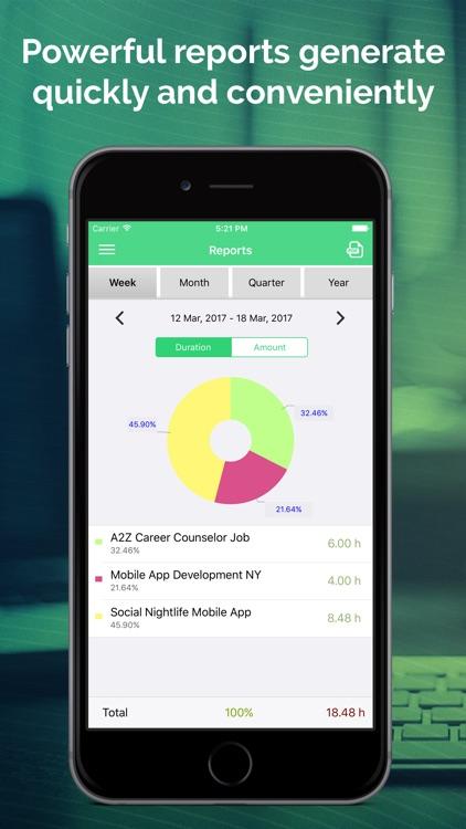 Work Hours Tracking & Billing screenshot-4
