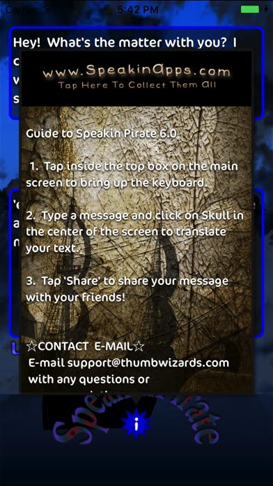 Speakin Pirate review screenshots