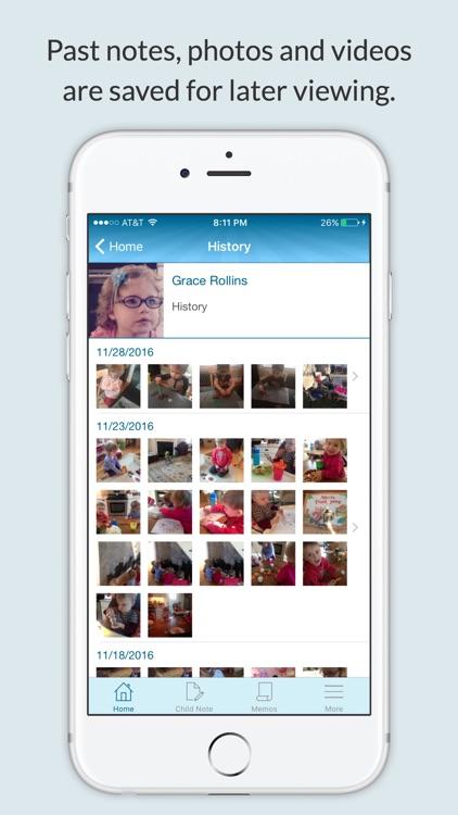 NannyNotes (Daily sheet for parents & nannies) screenshot-3
