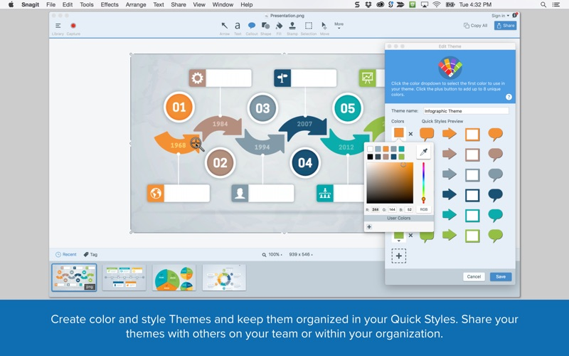 Snagit 4 Screenshot