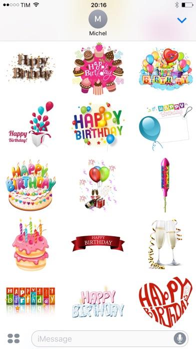 Happy Birthday Pack screenshot 3