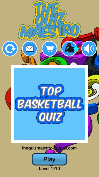Basketball Star Players Quiz Maestro: NBA Edition