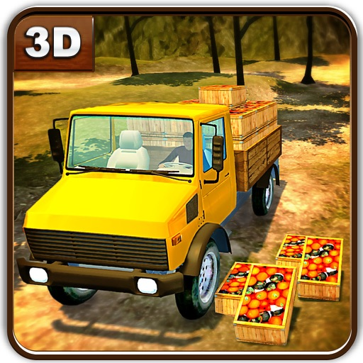 Farm Fruits Transporter Truck & Delivery Sim