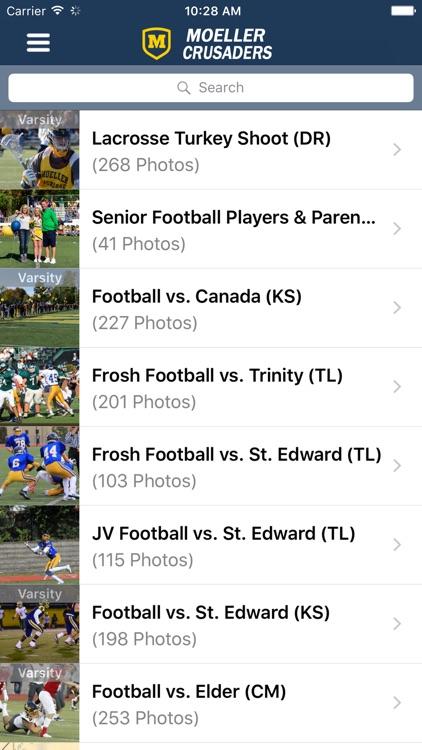 Moeller High School Sports screenshot-3