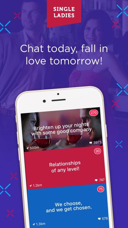 Singles Dating - Single Ladies screenshot-4
