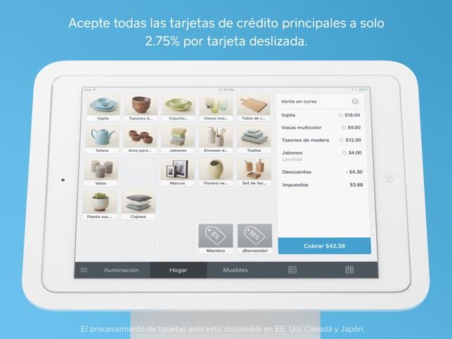 Punto de venta Square en App Store