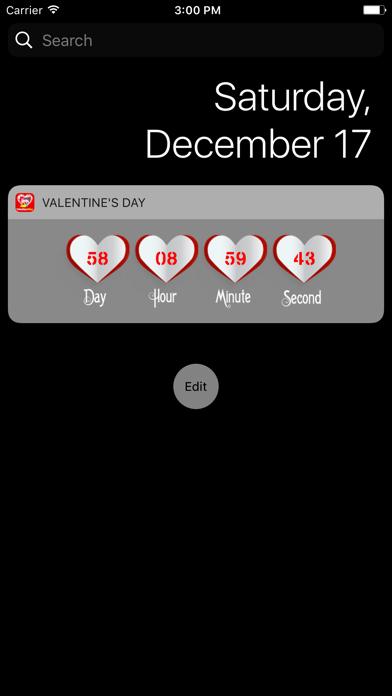 Valentine's Day Countdown screenshot three
