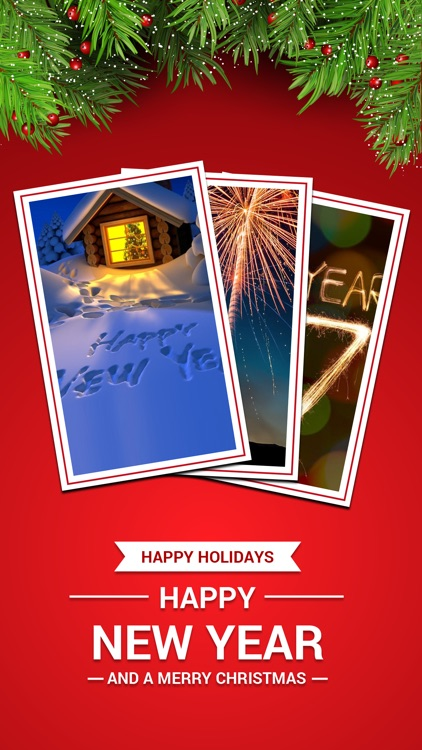 New Year Wallpapers - Christmas Countdown & Cards screenshot-3