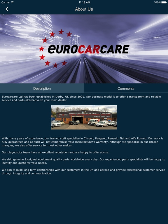 Euro Car Care By The Web Guys Derby Limited Ios United States