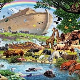 Noah's Ark Bible Game