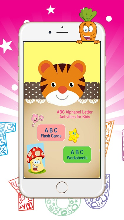Learn Alphabet A to Z Worksheets for Preschoolers