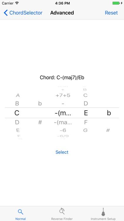 Fretter - Chordfinder screenshot-3