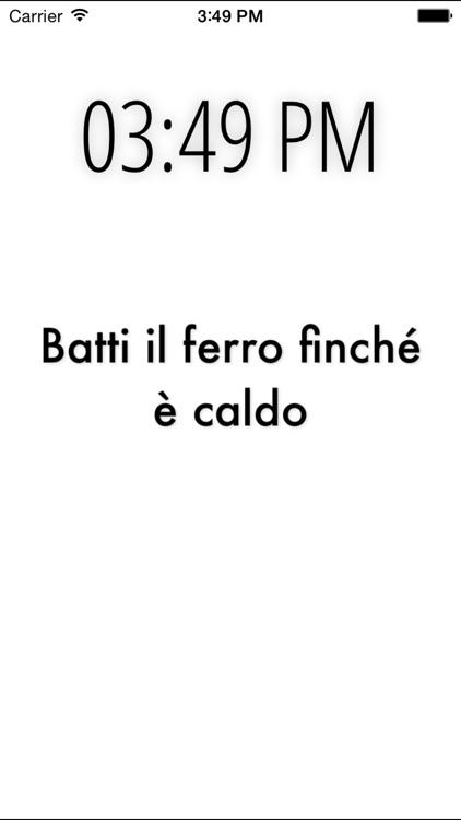 Italian Proverbs screenshot-4