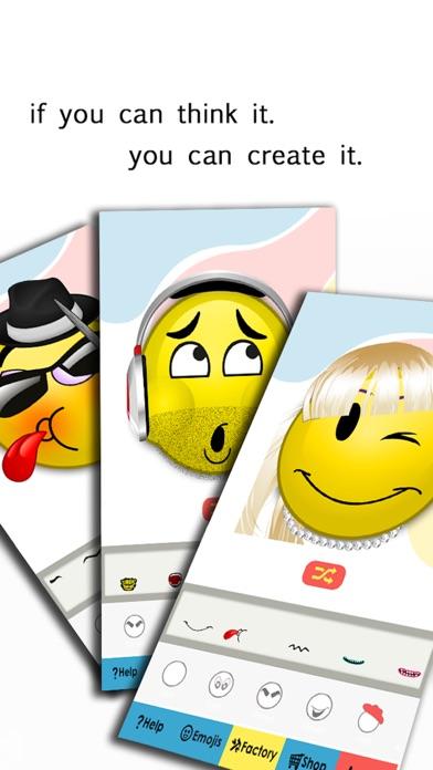 Emoji Maker - Make Your Own Emoticon Avatar Facesのおすすめ画像3
