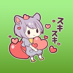 Tami Little Mouse Girl Japanese Sticker Vol 1