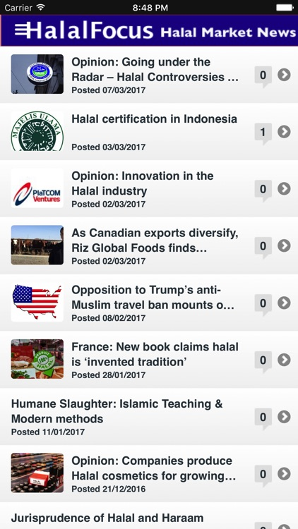 Halal Market News screenshot-3