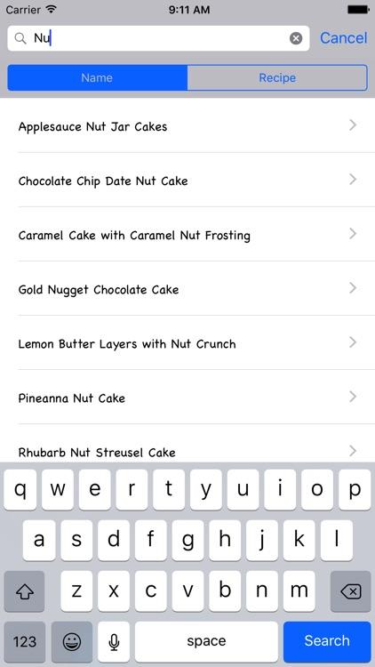 Classic Cake Recipe screenshot-3