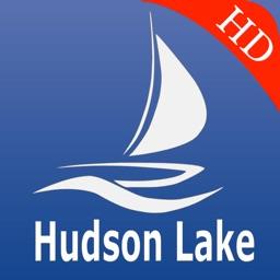 Hudson lake GPS nautical charts Pro