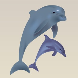 Dolphins : Cute Creatures of the Sea Stickers