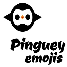 Pinguey stickers by drop sound
