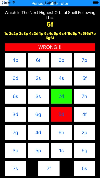 Periodic Table Tutor