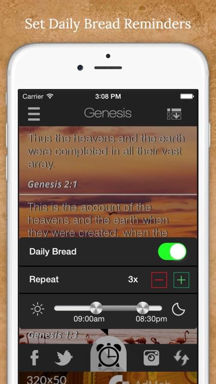 My Daily Bread - Daily Bible Verses screenshot-3