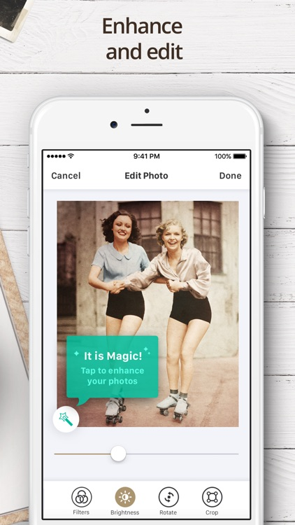 Photo Scanner for Me - Scan Old Photos and Albums app image
