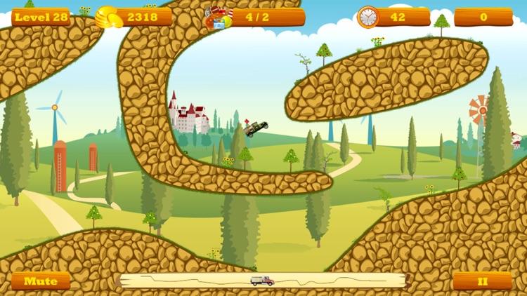 Truck Go Lite -- physics truck express racing game screenshot-3