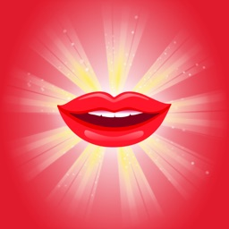 Loving Lips Stickers