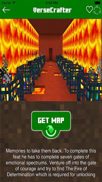 MAPS FOR MINECRAFT PE POCKET EDITION - ADVENTURE ! app image