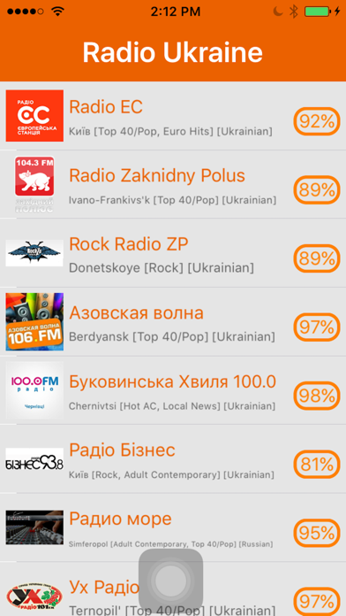 Radio Ukraine - радіо України screenshot one