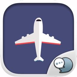 Airport Stickers Emoji Keyboard