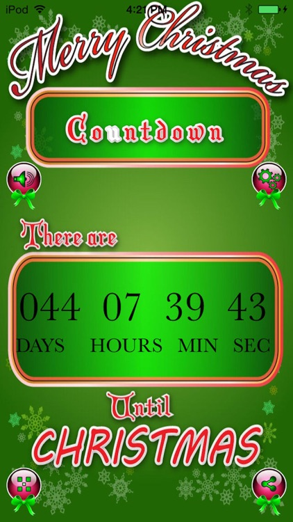 Christmas Countdown Pro - Count The Days To Xmas!