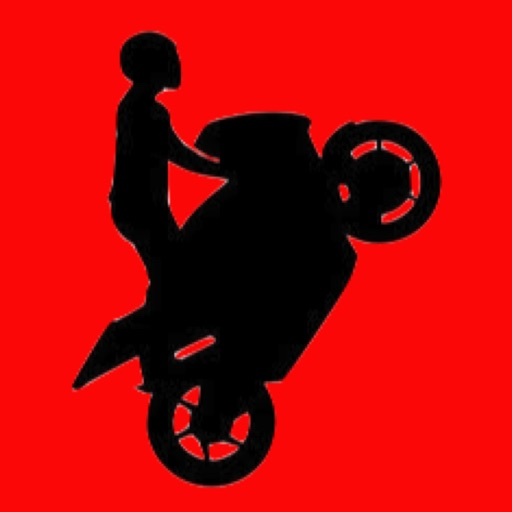 Cartoon Motorbike Stickman: Doodle World Stunt