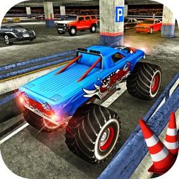 Multi Storey Monster Truck Parking Simulator 2017
