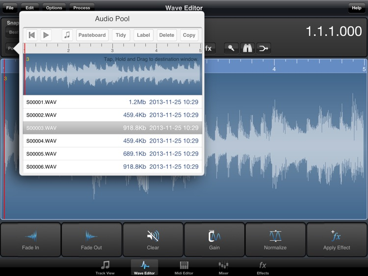 Meteor Lite Multitrack Recorder screenshot-3
