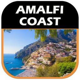 Amalfi Coast Offline Travel Map Guide