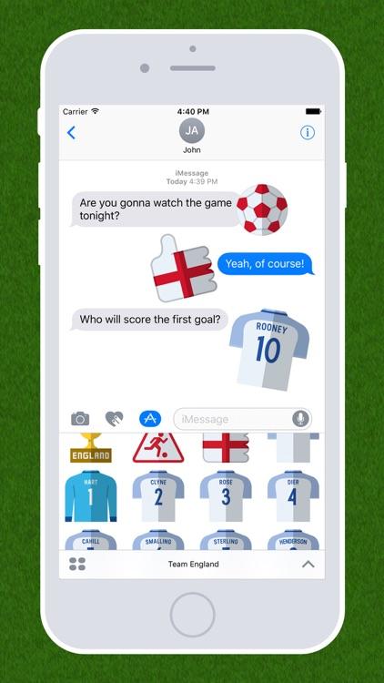 Football Emojis — Team England