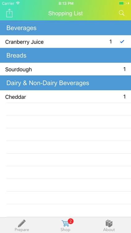 FODMAP Grocery Guide screenshot-1