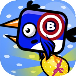 Flappy Blue hero : fly bird classic
