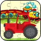 Truck & Train Vehicle Puzzle Für Kinder und Kleink icon